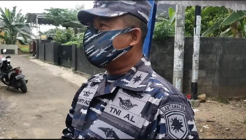 Danlanal Lampung Siap Bantu Kebutuhan Keluarga Letkol Heri