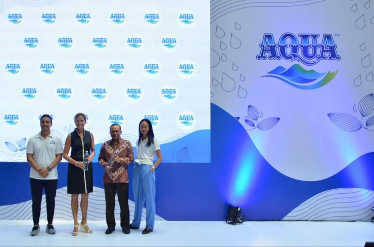 Danone-AQUA Kenalkan Botol 100 Persen Daur Ulang