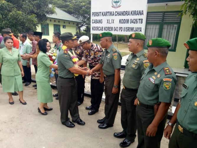 Danrem 043 Tegaskan Anggota TNI AD Harus Bersih Narkoba