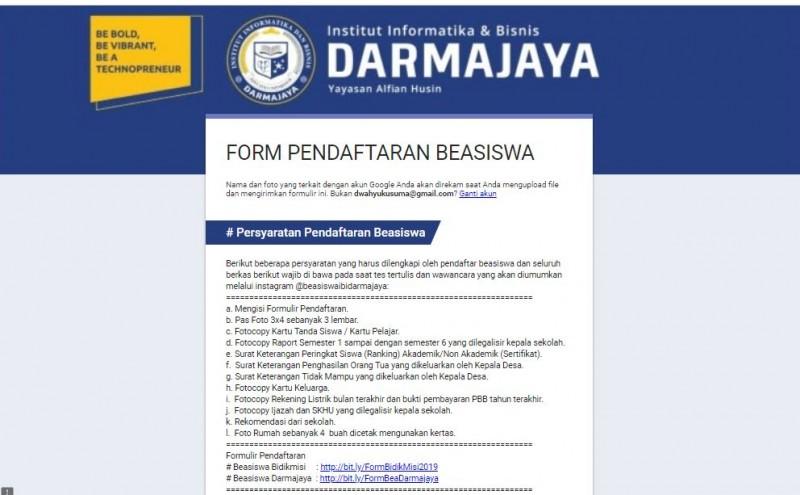 Darmajaya Tawarkan Berbagai Beasiswa
