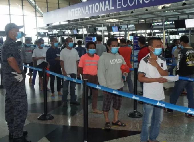 Data 9 Pekerja Migran Lampung yang Dideportasi Malaysia