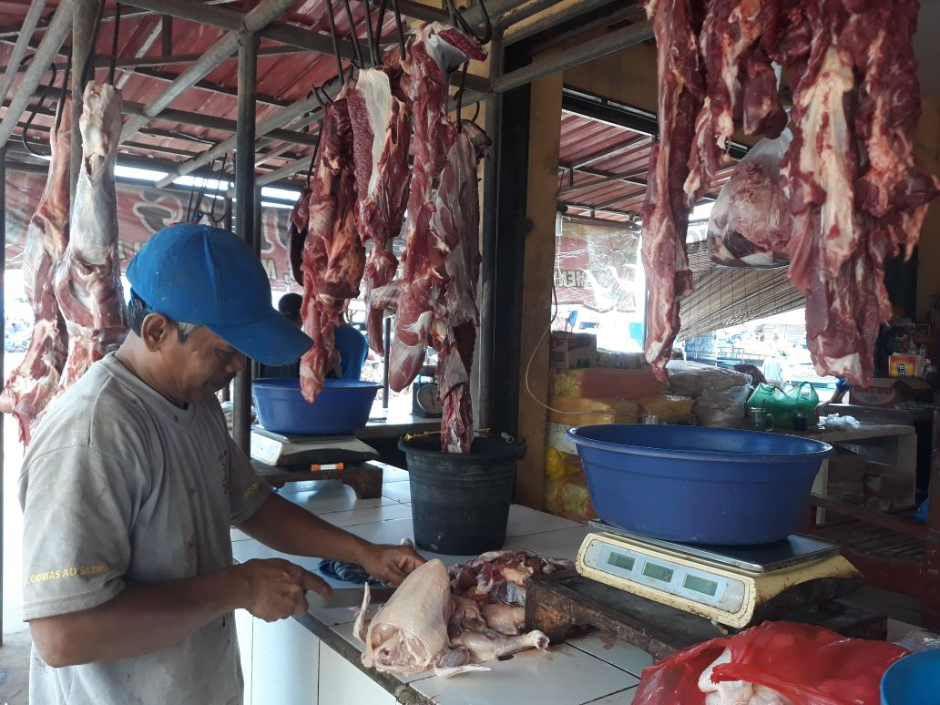 Harga Daging Sapi Bertahan Tinggi Rp130 Ribu/kg