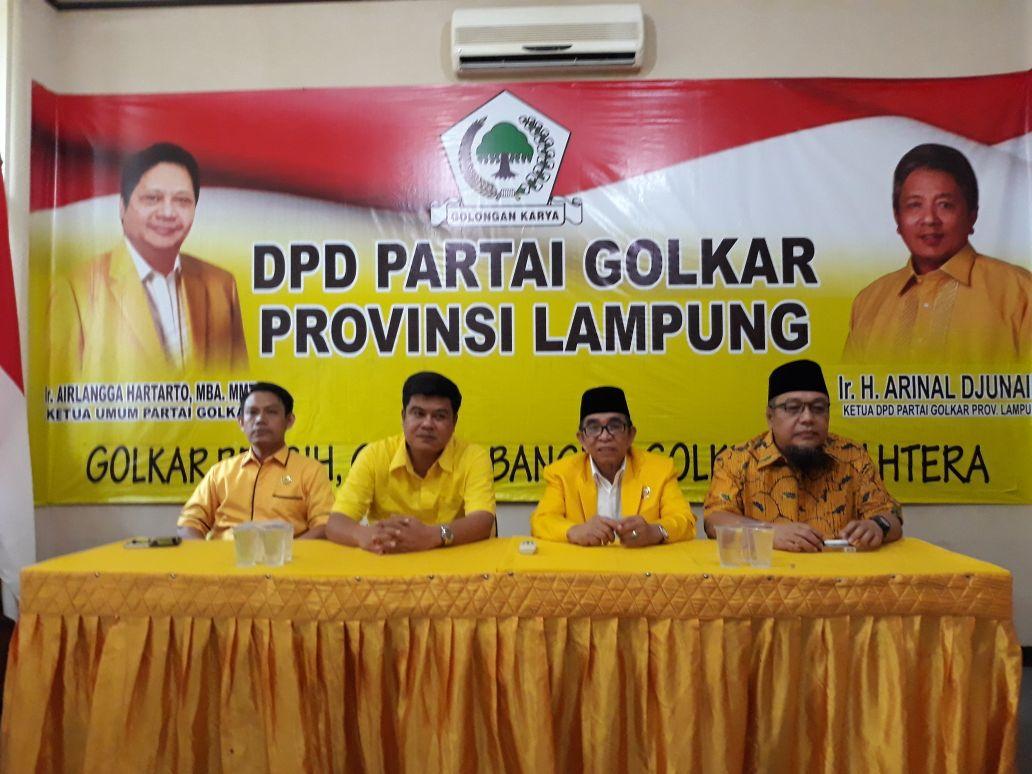 Musa Ahmad Pimpin Ketua DPD II Golkar Lampung Tengah
