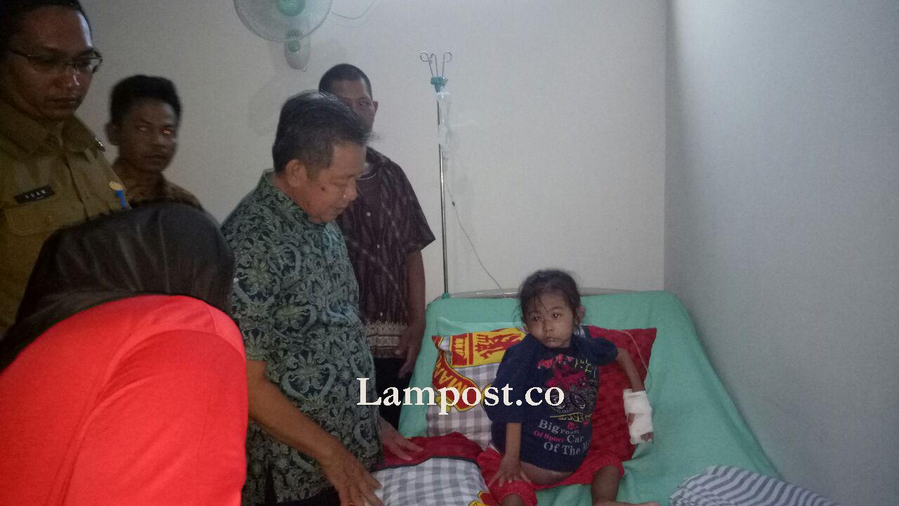 Nabila, Bocah Penderita Tumor Ganas Asal Tubaba, Dirujuk ke RSCAM