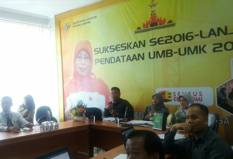 Pembangunan Manusia di Lampung Meningkatkan 0,6 Poin