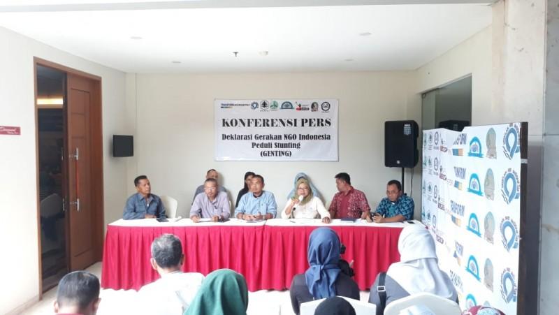 Deklarasi NGO Dorong Percepatan Pencegahan, Penanganan dan Penurunan Stunting