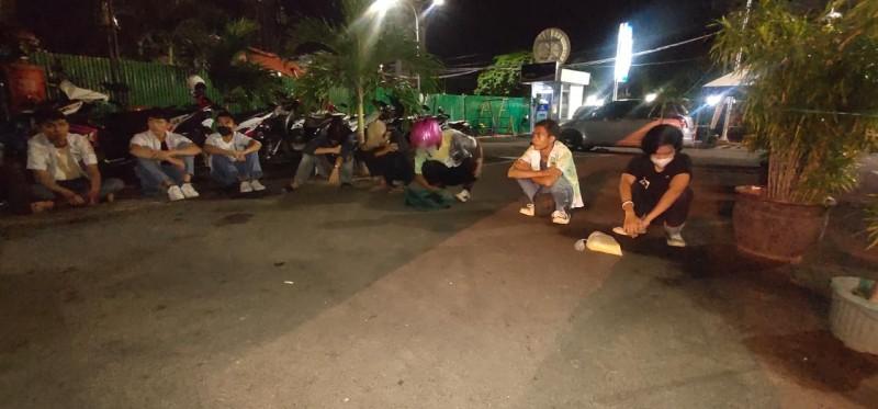 Delapan Pelajar Terlibat Konvoi Kelulusan dan Tawuran Ditangkap