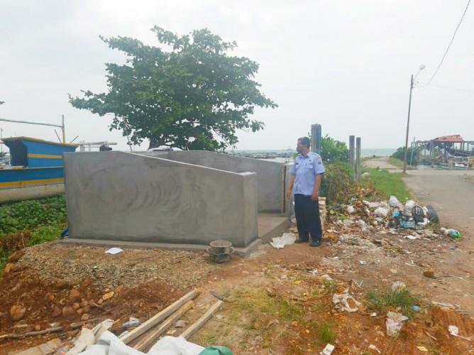 Dermaga Bom Kalianda Dilengkapi Bak Sampah Permanen