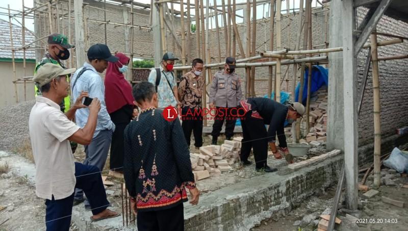 Desa Baktirasa Kebut Pembangunan di Tengah Pandemi Covid-19