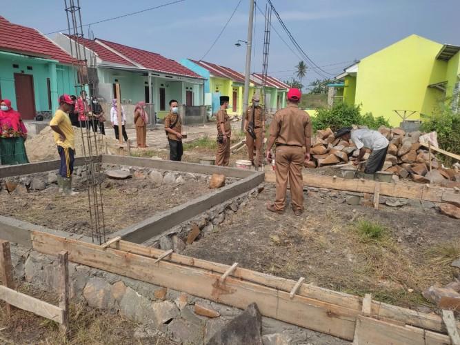 Desa Candimas Gelontorkan DD Rp70 Juta untuk Pembangunan Gedung TK