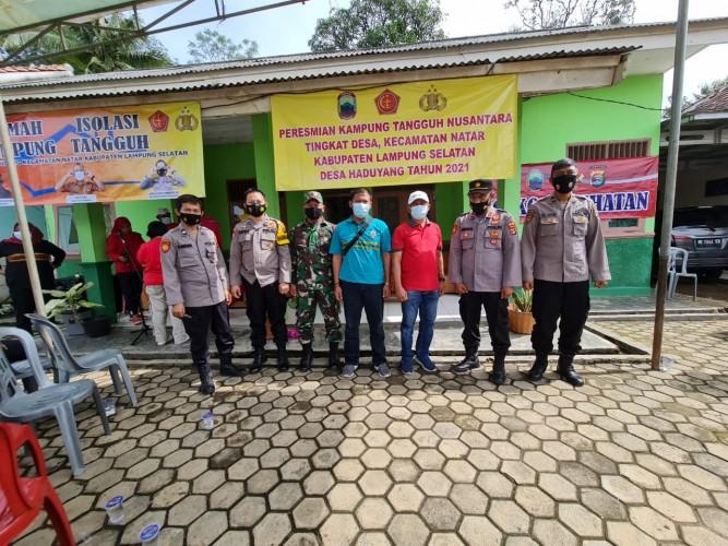 Desa Haduyang Bangun Empat Posko Penanganan Covid-19
