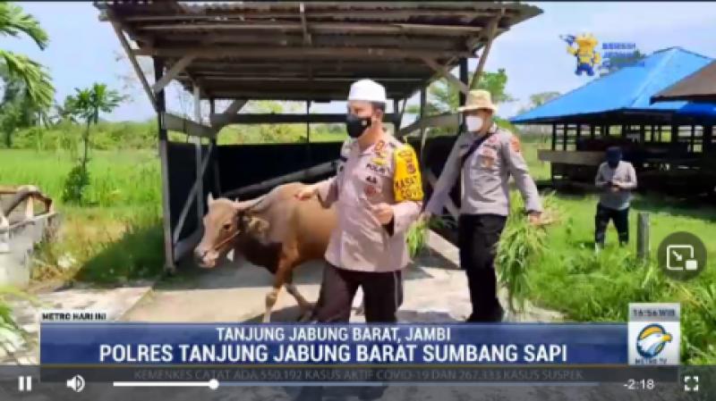 Desa Ini Menikmati Daging Kurban Pertama Sejak 80 Tahun