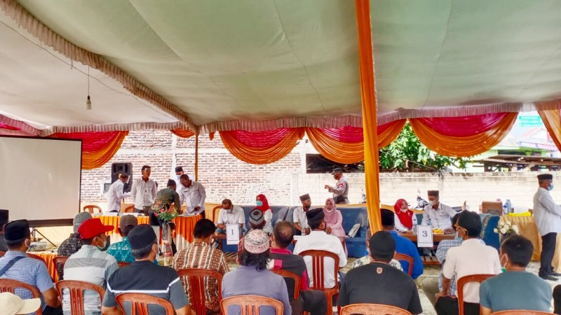 Desa Kekiling Gelar Pemilihan Kepala Desa PAW