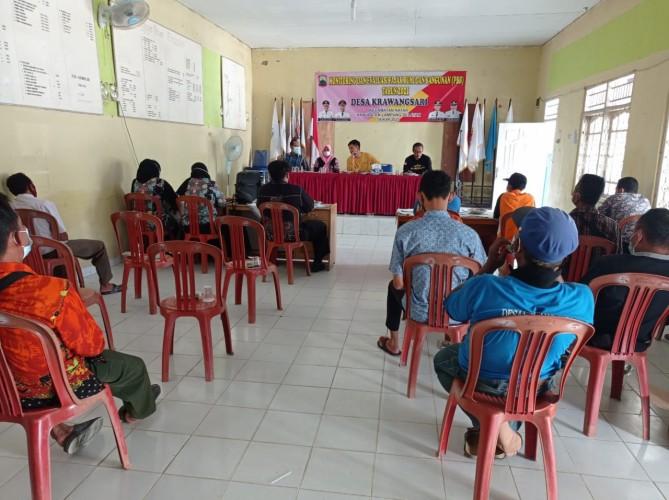 Desa Krawangsari Pimpin Target Pelunasan Pajak di Kecamatan Natar Lamsel