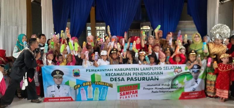 Desa Pasuruan Deklarasikan Gerakan Bebas Sampah Plastik