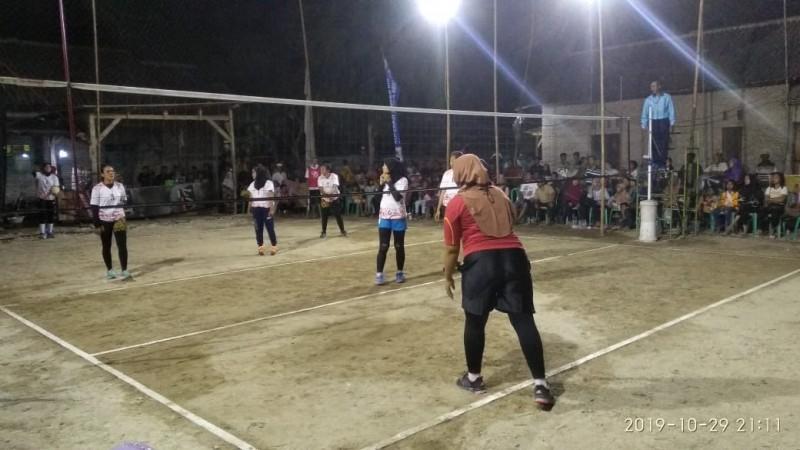 Desa Pematangpasir Gelar Turnamen Voli Peringati Sumpah Pemuda