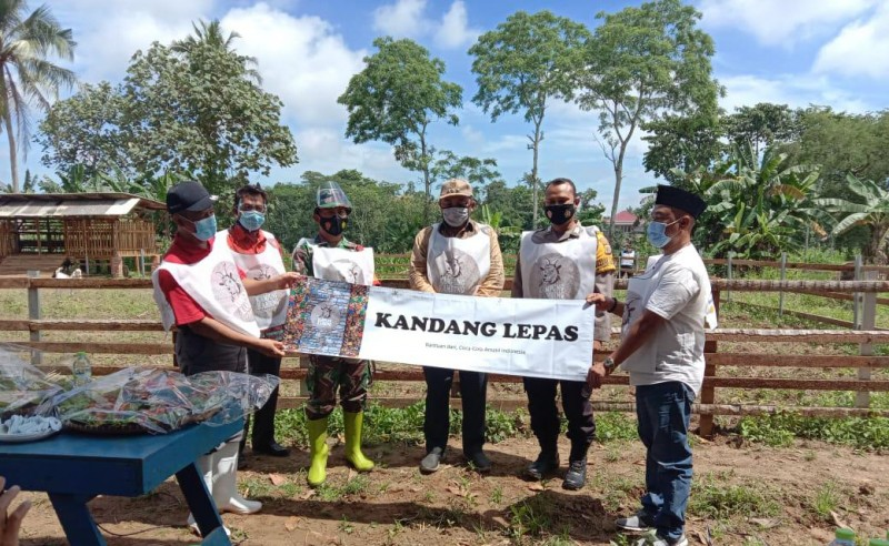 Desa Sukanegara Rintis Wisata Kampung Kambing