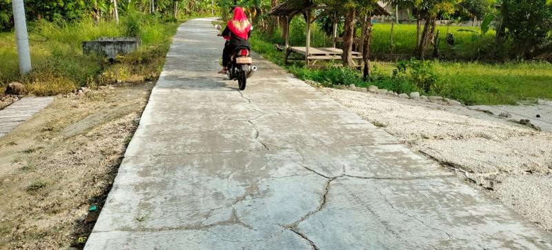 Dewan akan Pantau Kerusakan Jalan di Dusun Babakan