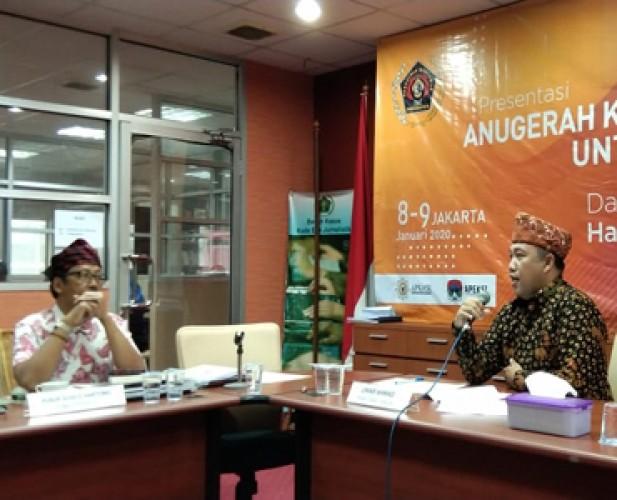 Dewan Juri PWI Apresiasi Tinggi Presentasi Bupati Tubaba