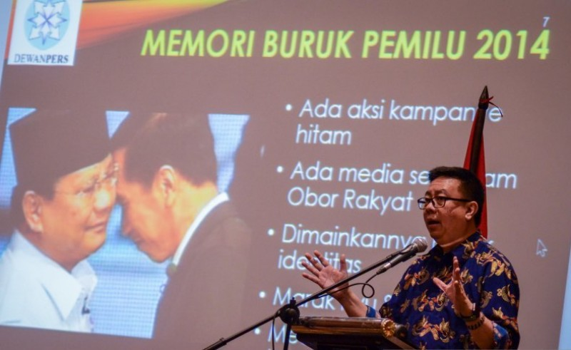 Dewan Pers Ingatkan Media Massa Tidak Merujuk Medsos