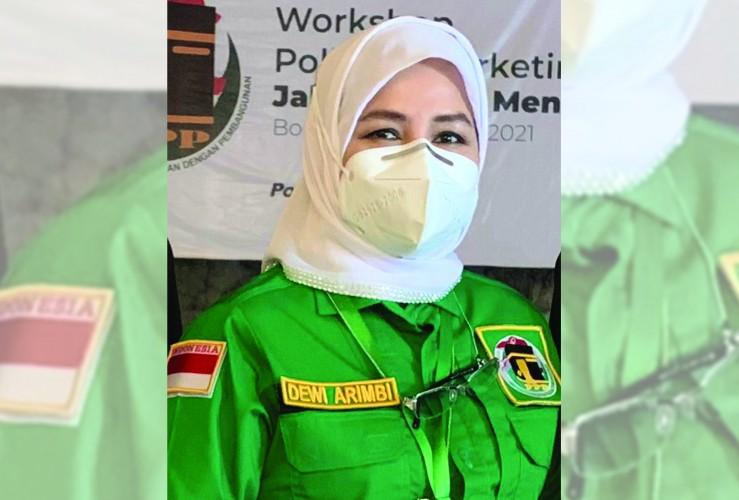 Dewi Arimbi Terpilih Sebagai Ketua DPW PPP Lampung