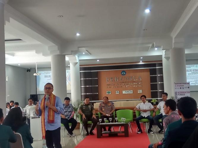 Dialog Kebangsaan, Zulkifli Hasan Minta Pemuda untuk Persiapkan Diri