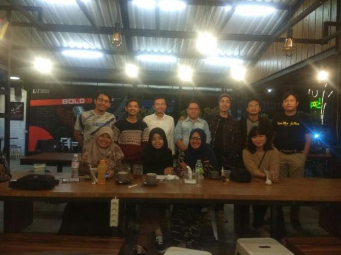 Dide Hijau Daun Dukung Startup Lampung
