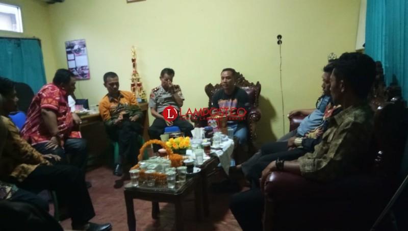 Diduga Ada Kecurangan Pilkades, Dua Desa di Lamsel Lakukan Mediasi