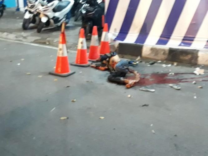 Diduga Bom Bunuh Diri, Pemuda meledak di Pospam Tugu Kartasura