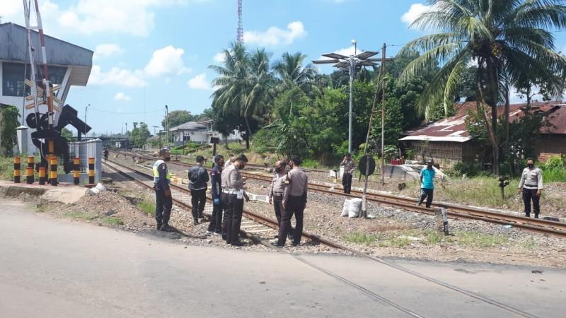 Diduga Bunuh Diri, Pemuda Kotabumi Tewas Dihantam Kereta