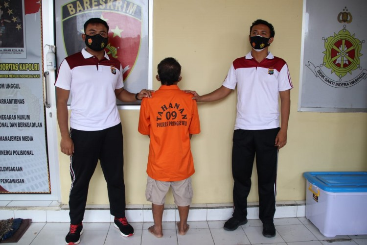 Diduga Cabuli Anak, Kakek 63 Tahun di Pringsewu Ditangkap