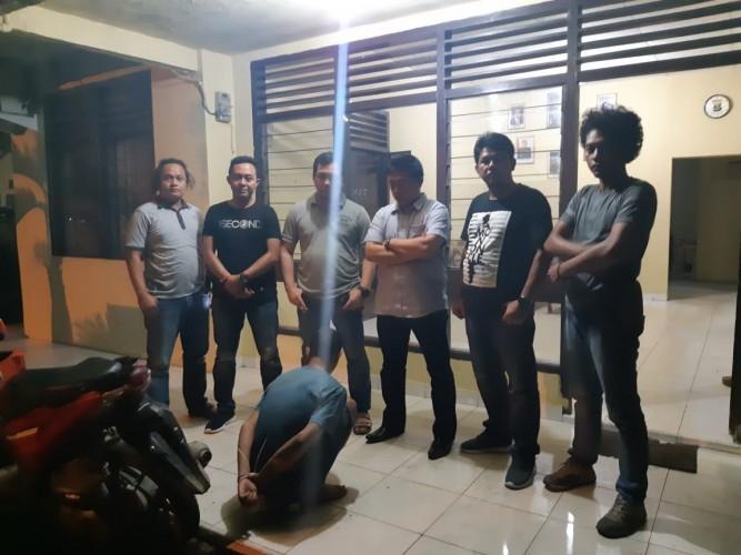 Diduga Maling Ponsel, Pegawai Honorer  Pringsewu Ditangkap