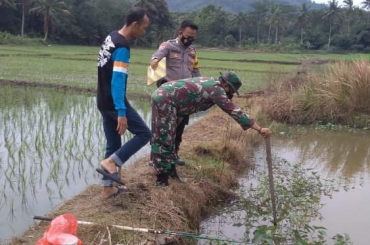 Diduga Sakit, Warga Tanjungbintang Ditemukan Tewas di Kolam