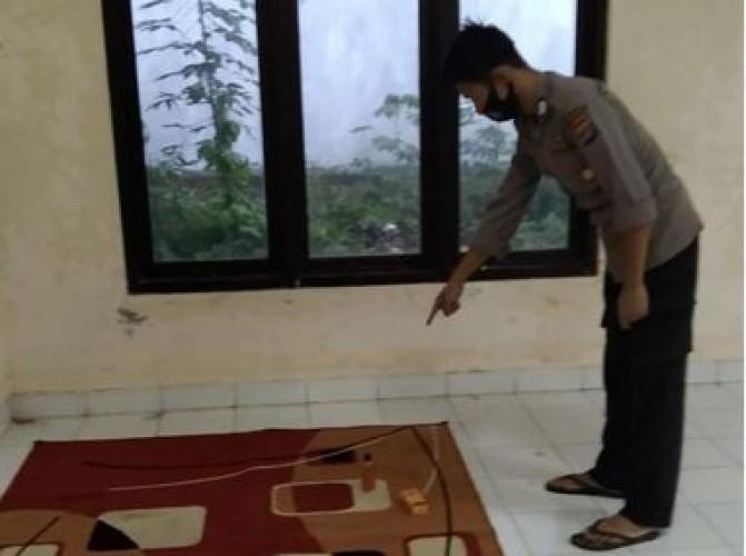 Tahanan Kabur Usai Memijat Polisi Hingga Tertidur