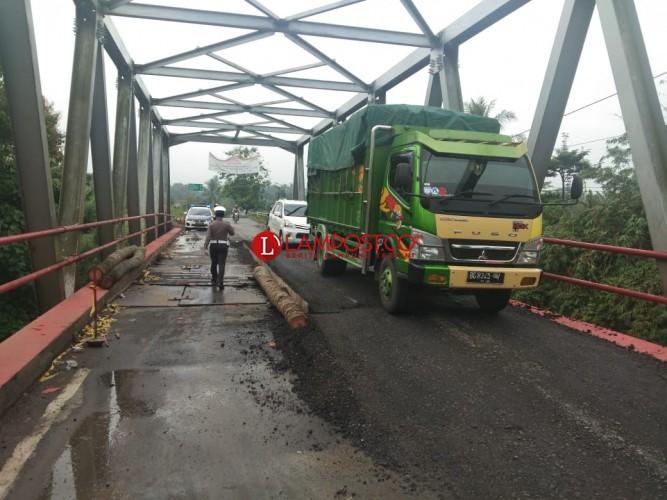 Dinas Bina Marga Lampung Klaim Jembatan Way Rarem Kewenangan Pusat