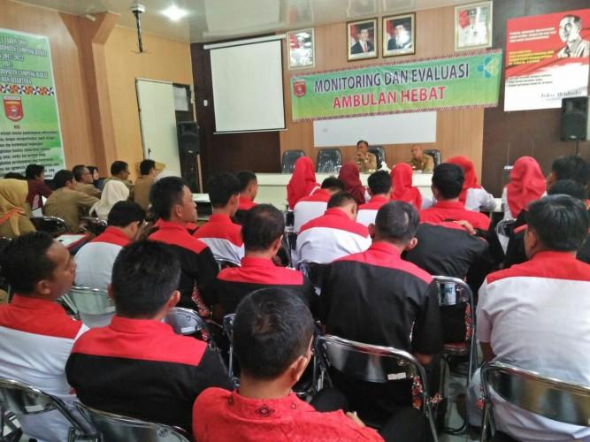 Dinas Kesehatan Lampung BaratEvaluasi Program Ambulan Hebat