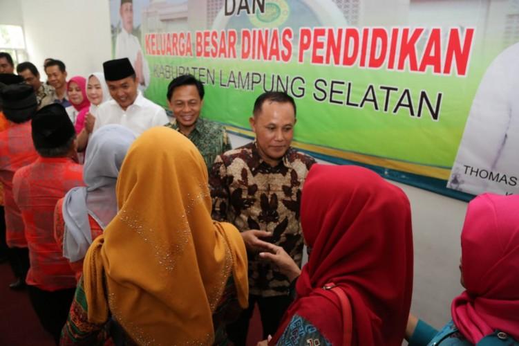 Dinas Pendidikan Lampung Selatan Gelar Halalbihalal