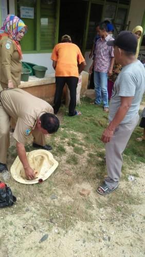Dinkes Gelar Pemicuan ODF Di Desa Bindu