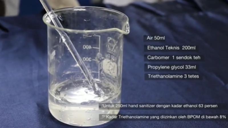 Dinkes Kota Minta Warga Tak Asal Beli Hand Sanitizer