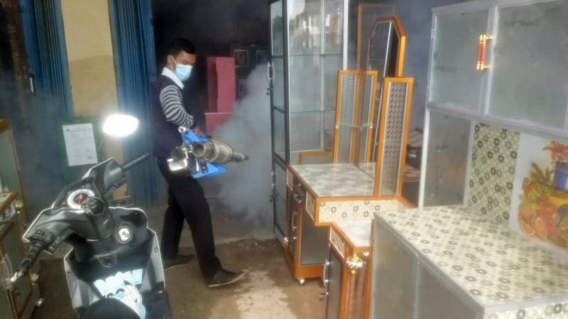 Dinkes Mesuji Fogging Dua Desa Terjangkit DBD