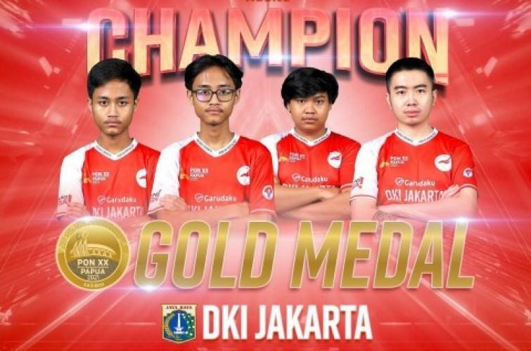 Diperkuat Juara Dunia, Kontingen PUBG Mobile Jakarta Berjaya di PON XX Papua