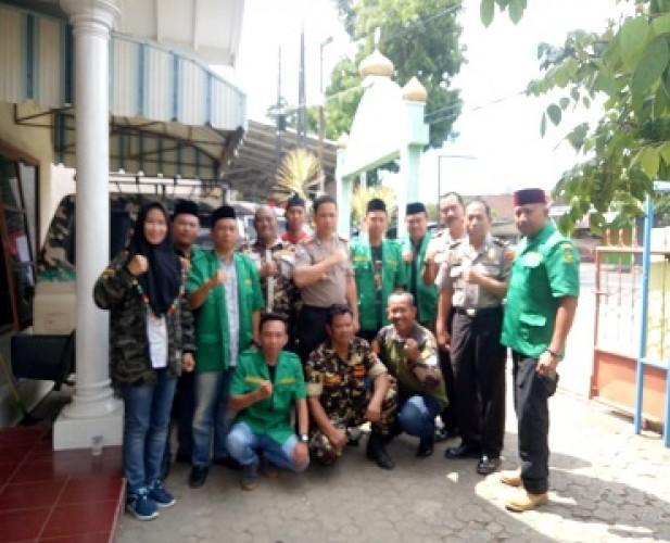 Dirbinmas Polda Lampung Kunjungi GP Ansor Kota