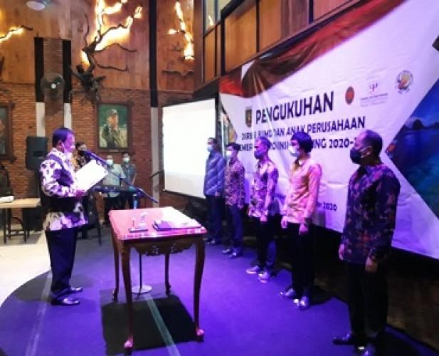 Direksi Baru Diharapkan Bawa BUMD Lampung Lebih Maju