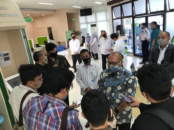 Direksi BPJamsostek Tinjau Pelaksanaan <i>One to Many</i> di Kantor Cabang Bandar Lampung