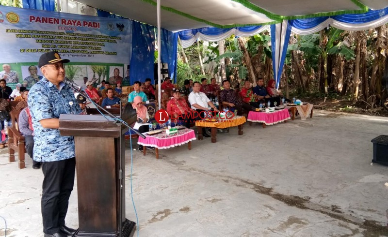 Dirjen PSP Kementan Akan Bangun Embung di Pulaujaya