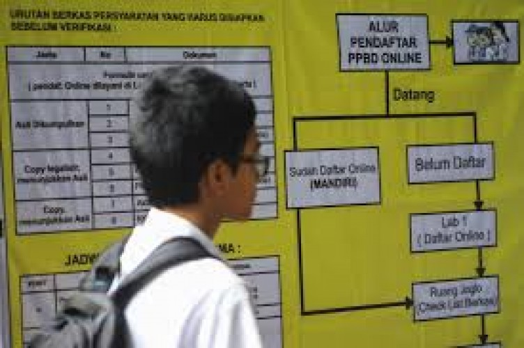 Disdikbud Belum Bahas Pelaksanaan PPDB Online