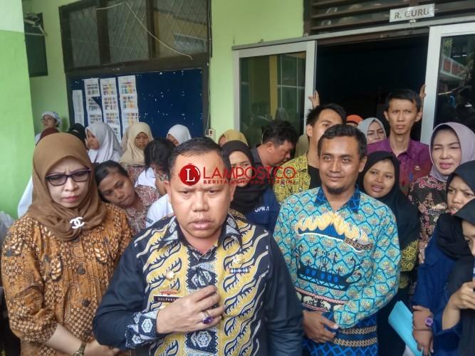 Disdikbud Lampung Janji Selesaikan Persoalan di SMKN 3