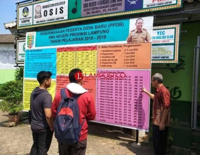 Disdikbud Lampung Terapkan PPDB Online