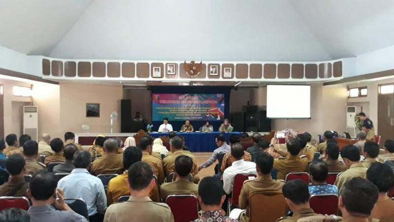 Disdikbud Lampung Uji Publik Pergub Pendanaan dan Pungutan Biaya