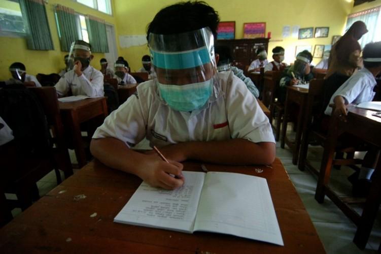 Disdikbud Sebut Pembelajaran Tatap Muka di Lampung Tidak Serentak